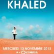 Concert KHALED à Paris @ L'Olympia - Billets & Places