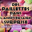 Spectacle DES PAILLETTES DANS L'ANNIVERSAIRE SURPRISE