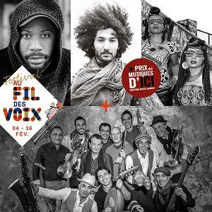Prix Des Musiques D'ici + Fanfarai Big Band