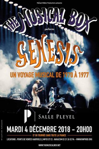 Concert THE MUSICAL BOX à Paris @ Salle Pleyel - Billets & Places