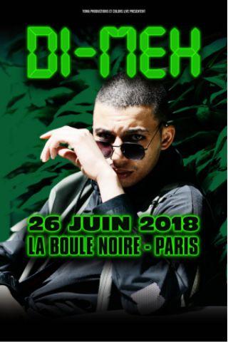 Concert DI-MEH à PARIS @ La Boule Noire - Billets & Places