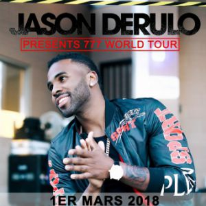JASON DERULO @ Zénith Paris La Villette - Paris