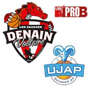 PRO B - VOLTAIRE vs QUIMPER @ Complexe Sportif Jean Degros - DENAIN