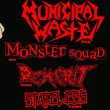Soirée Municipal Waste + Monster Squad + Demerit + Dead 77 + Guest à PARIS @ Gibus Live - Billets & Places
