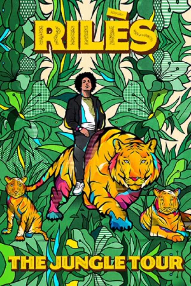 """Concert RILES """"The Jungle Tour"""" à Limoges @ CCM John Lennon - Billets & Places"""