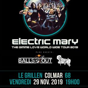 Electric Mary + Balls Out + Supertzar
