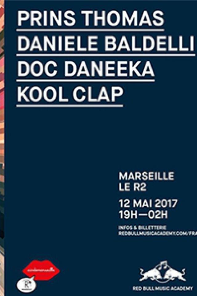 Soirée Red Bull Music Academy présente Prins Thomas, Daniele Baldelli à MARSEILLE @ ROOFTOP R2 Marseille - Billets & Places