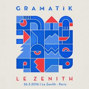 Concert GRAMATIK - Le Zenith - 26 mars 2016 à Paris @ Zénith Paris La Villette - Billets & Places
