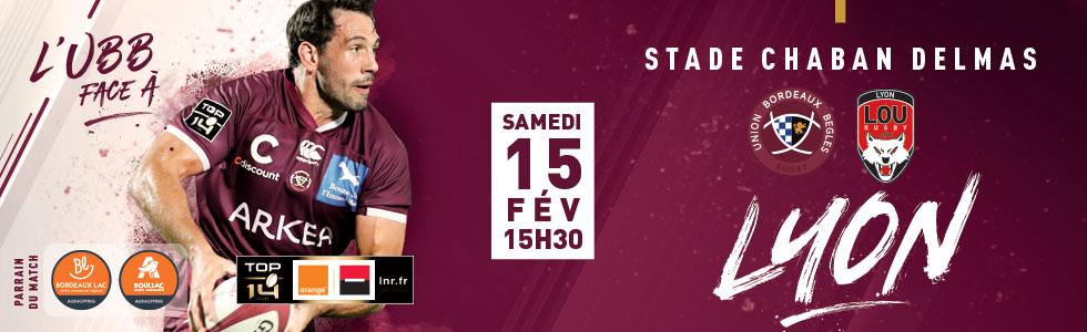 Top14 - 15ème journée : UBB / Lyon 0_26663_0