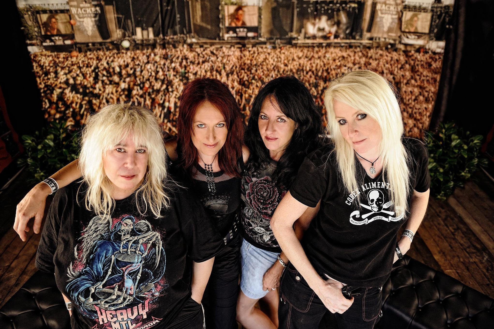 GIRLSCHOOL : billet et place de concert