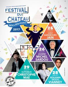 Concert LE FESTIVAL DU CHATEAU 2017