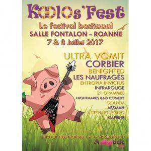Festival KOOLOS' FEST 2017 : programmation, billet, place, pass, infos