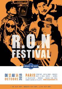 R.O.N FESTIVAL 2018 : Billet, place, pass & programmation | Festival