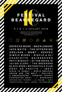FESTIVAL BEAUREGARD 2018 : Billet, place, pass & programmation | Festival