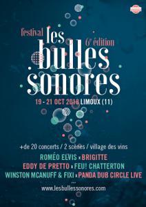 Festival Les Bulles Sonores 2018 : Billet, place, pass & programmation | Festival