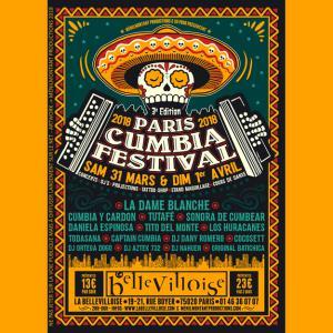 3E PARIS CUMBIA FESTIVAL 2018 : Billet, place, pass & programmation | Festival