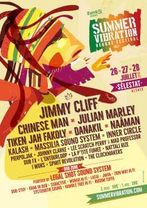 Festival FESTIVAL REGGAE SUMMER VIBRATION 2017