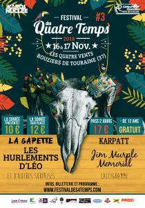 FESTIVAL DES QUATRE TEMPS 2018 : Billet, place, pass & programmation | Festival