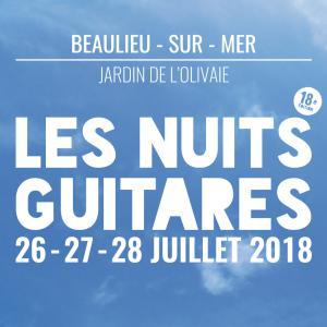 Festival Les Nuits Guitares 2018 : Billet, place, pass & programmation | Festival
