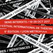 FESTIVAL SENS INTERDITS 2017