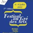 Festival Au gré des Arts 2012 : Billet, place, pass & programmation | Festival