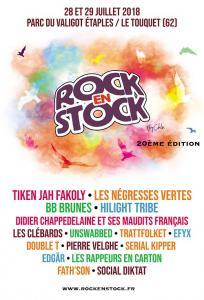 FESTIVAL ROCK EN STOCK 2018 : Billet, place, pass & programmation | Festival