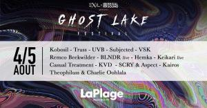 GHOST LAKE FESTIVAL : Billet, place, pass & programmation | Soirée