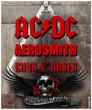 Tournée LEGENDS OF ROCK (AC/DC, Guns, Aerosmith)