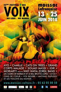 FESTIVAL DES VOIX, DES LIEUX... DES MONDES 2018 : Billet, place, pass & programmation | Festival