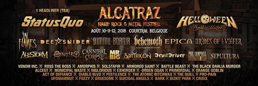 Alcatraz Hard Rock & Metal Festival 2018