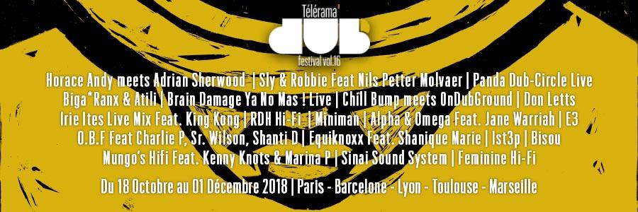 Télérama Dub Festival #16