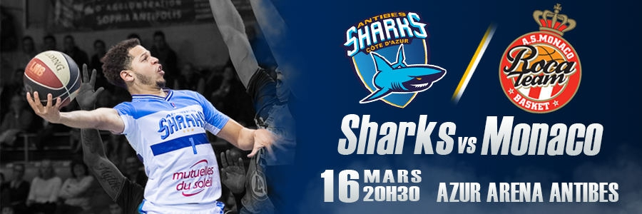 ANTIBES SHARKS / AS MONACO