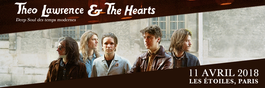 THEO LAWRENCE & THE HEARTS