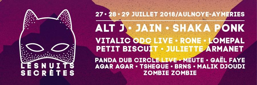 Festival Les Nuits Secrètes