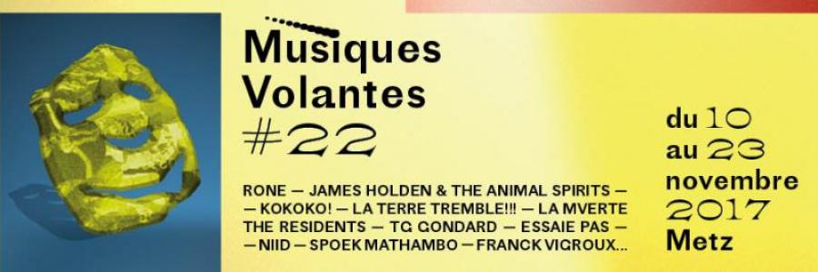 FESTIVAL MUSIQUES VOLANTES # 22