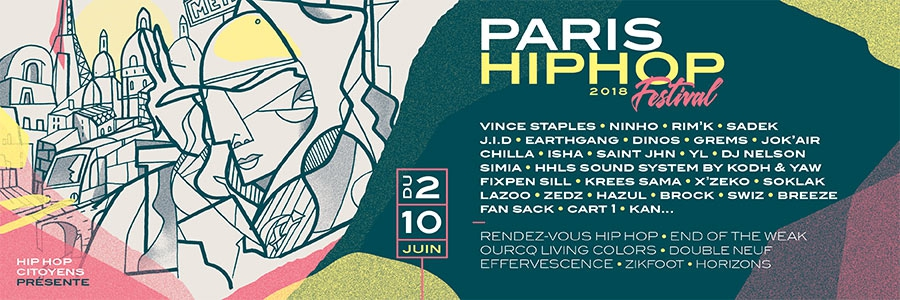 FESTIVAL PARIS HIP HOP 2018