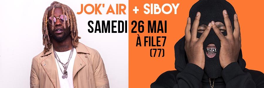 JOK'AIR + SIBOY