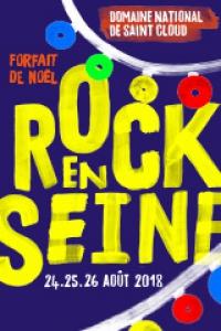 ROCK EN SEINE 2018 - FORFAIT NOËL 3 JOURS - EARLY