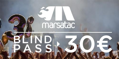 Billets FESTIVAL MARSATAC - 21EME EDITION - PASS 3J