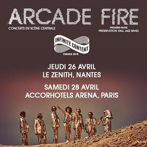 Billets Arcade Fire
