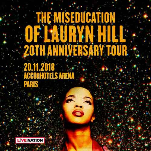Billets MS.LAURYN HILL