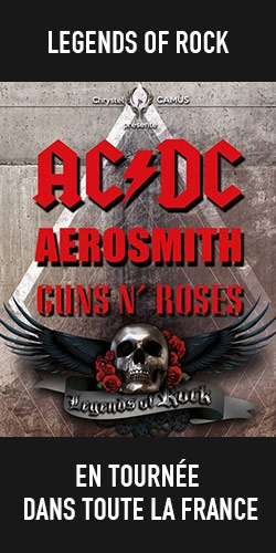 Billets Tournée LEGENDS OF ROCK (AC/DC, Guns, Aerosmith)