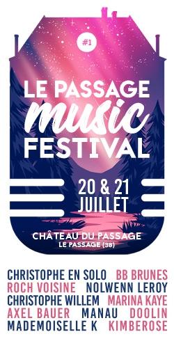 Billets PASSAGE MUSIC FESTIVAL