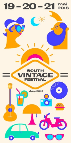 Billets SOUTH VINTAGE FESTIVAL 2018