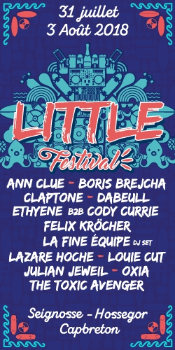 Billets LITTLE FESTIVAL 2018