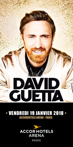 Billets DAVID GUETTA