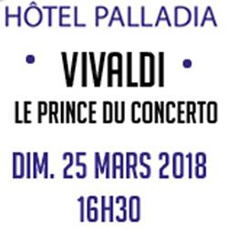 Billets VIVALDI, le prince du Concerto