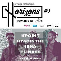 Billets HRZNS #9 - KPOINT - ISHA - HYACINTHE - ELINASS
