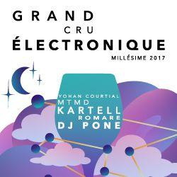 Billets Grand Cru Électronique, Millésime 2017