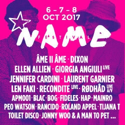 Billets NAME FESTIVAL 2017